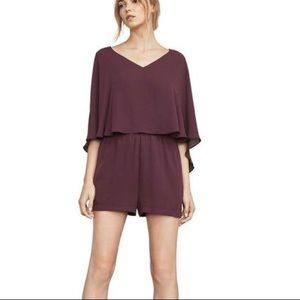 open back cape romper